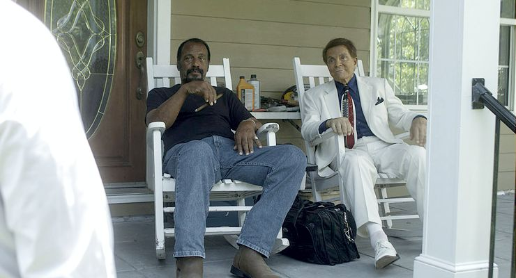 Fred Williamson and Mel Novak in Check Point (2017)