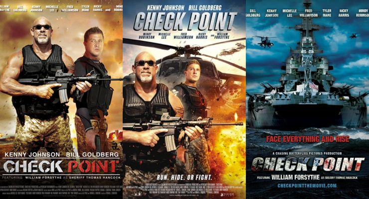 Check Point (2017) Posters