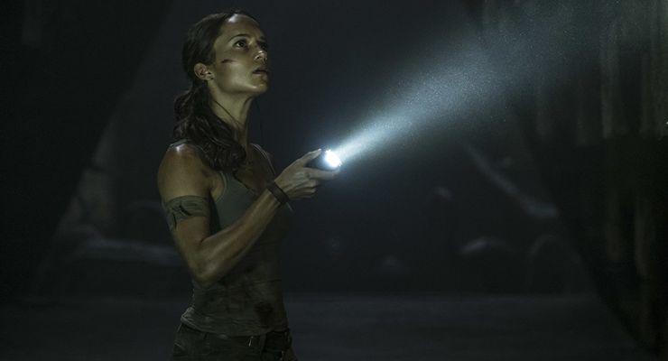 Alicia Vikander Tomb Raider (2018)