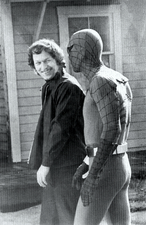 Spider-man and Benson