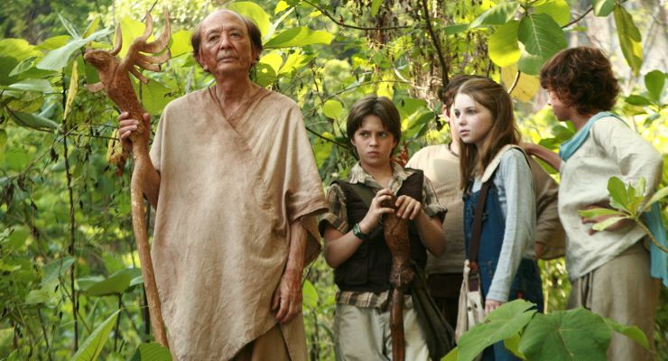 James Hong in The Lost Medallion: The Adventures of Billy Stone (2013)