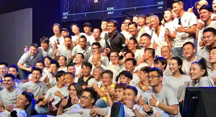 Jackie Chan Stunt Team Reunion