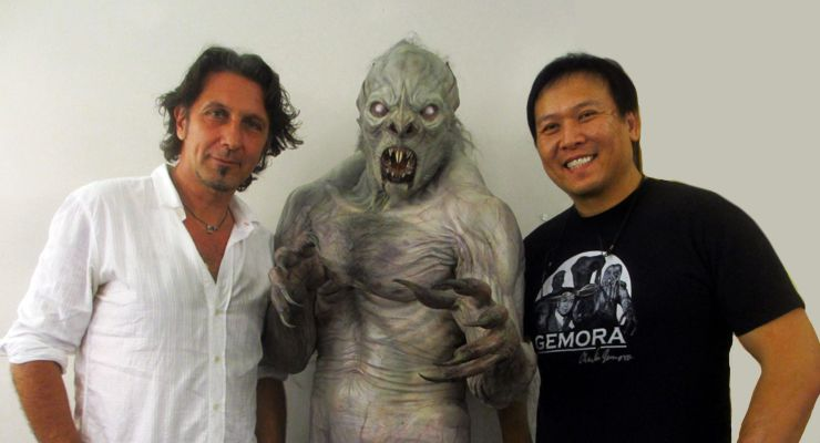 Creature Designer Patrick Tatopoulos and Steve Wang