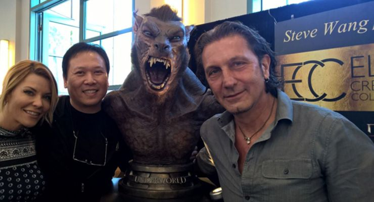 McKenzie Westmore, Steve Wang and Patrick Tatopoulos at Monsterpalooza