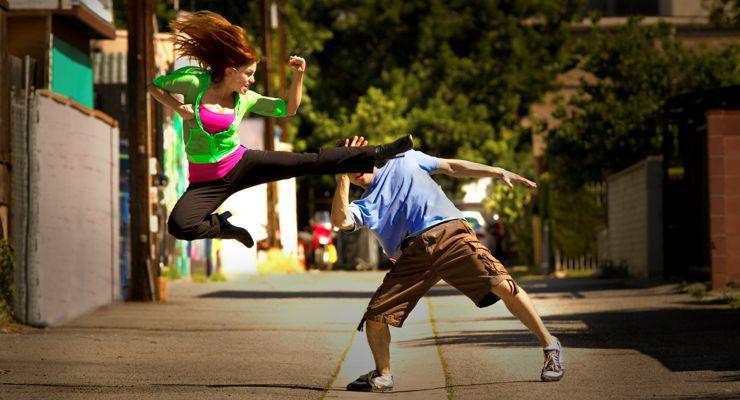Jasi Lanier Flying Kick