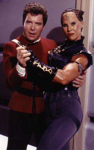 Spice Williams on Star Trek