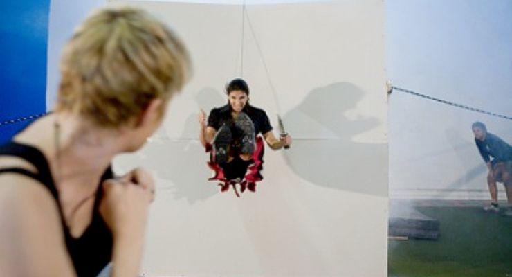 Crystal Santos Stunt