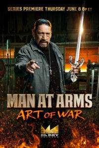 Danny Trejo with a Tizona Spanish Sword