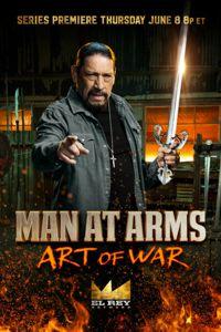 Danny Trejo with a Tizona Spanish Sword