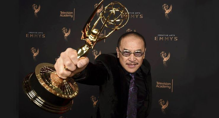 James Lew Wins Emmy 2017