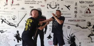 "1:50 Mark Mikita – teaching Eskrima at SEACAF 2015 (1 of 3) Fightology 659 views 5:00 Mark Mikita – The Classic Error (Second of 5 Videos) Mark Mikita 158 views 0:52 Mark Mikita working with a live-blade bolo Mark Mikita 148 views 4:39 The Mikita School of Martial Art • April 2017 Mark Mikita 183 views 2:09 Mark Mikita – Always Be Attacking Mark Mikita 151 views 0:51 Mark Mikita – PIA Progressive Indirect Attack Mark Mikita 51 views 0:23 Mark Mikita - Solo Practice with Stick & Knife Mark Mikita 122 views Mark Mikita – The Classic Error (Third of 5 Videos) Mark Mikita 143 views Mark Mikita – The Classic Error (First of 5 Videos) Mark Mikita 313 views 😢Manchester Terror Survivor Leaves Judges Emotional! So Inspiring! | Britain´s Got Talent 2018 How Talented Recommended for you Integrated Eskrima ""Wrist Torque"" Disarm to Outside Gate - Mark V. Wiley Mark V. Wiley 3.1K views The Mikita School of Martial Art Fightology 231 views Kali - Strip Disarm Blue Springs Jiu-Jitsu 80 views Mark Mikita training with Andrew Chin"