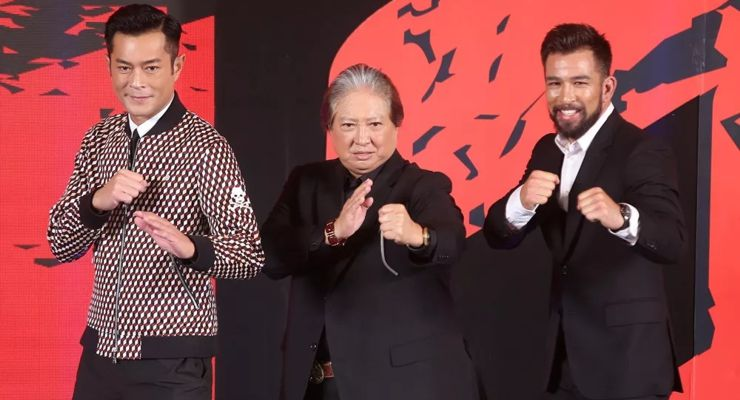 Louis Koo, Sammo Hung and Chris Collins