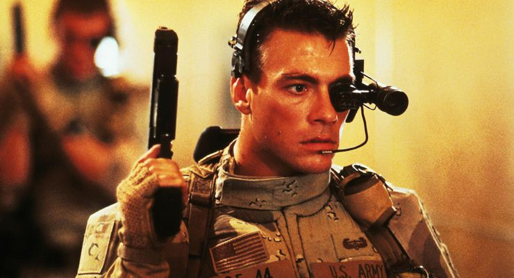 Jean-Claude Van Damme with Firearm
