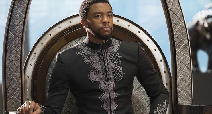 Chadwick Boseman Black Panther (2018)
