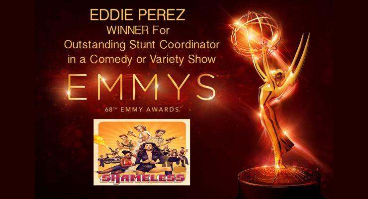 Eddie Perez Emmy Winner