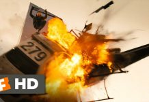 Live Free or Die Hard (2007) Helicopter Meets Car