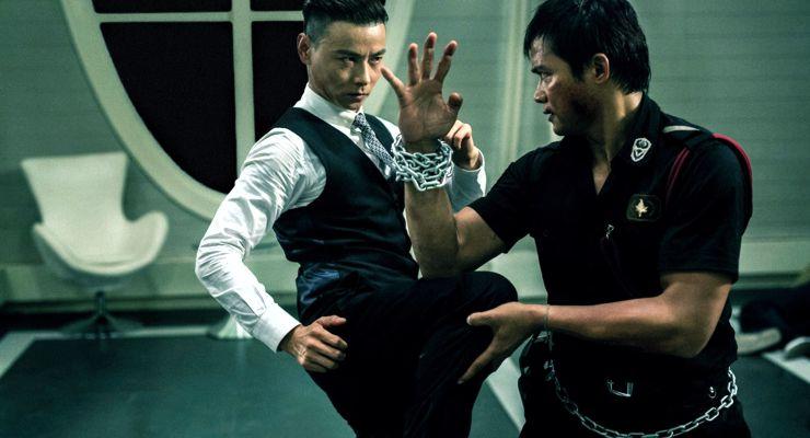 Jin Zhang and Tony Jaa in Sha po lang 2 (2015)