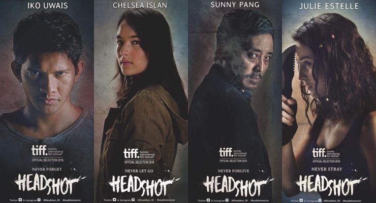 Headshot (2017) Movie Posters