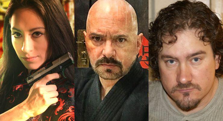 Shadow War Stars Sara N. Salazar, Mark Steven Grove and Will Beckingham
