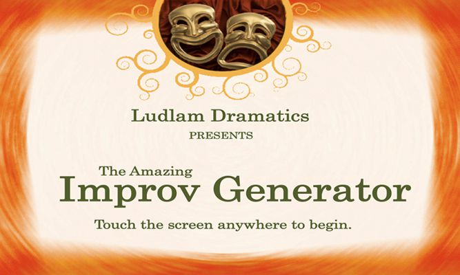 The Amazing Improv Generator App