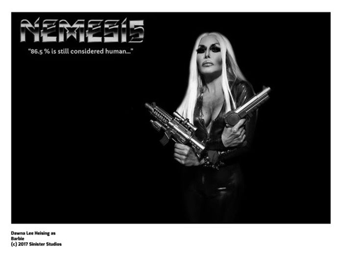 Dawna Lee Heising Nemesis 5 Lobby Card