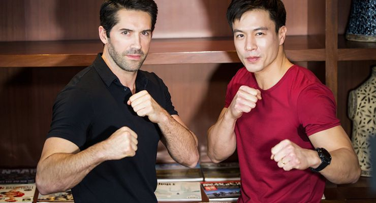 Scott Adkins and Andy On in Abduction (2018)