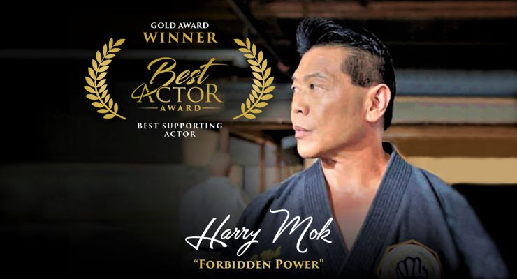 Harry Mok wins Best Actor Award