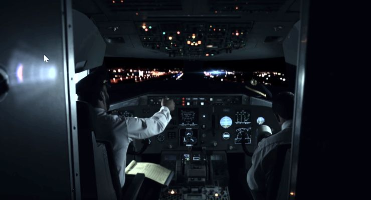 The Cockpit in MAYDAY (2017)
