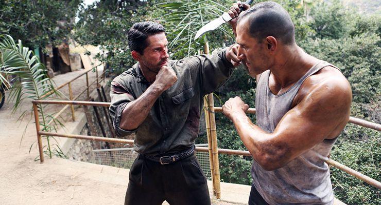 Marko Chan and Scott Adkins in Savage Dog (2017)
