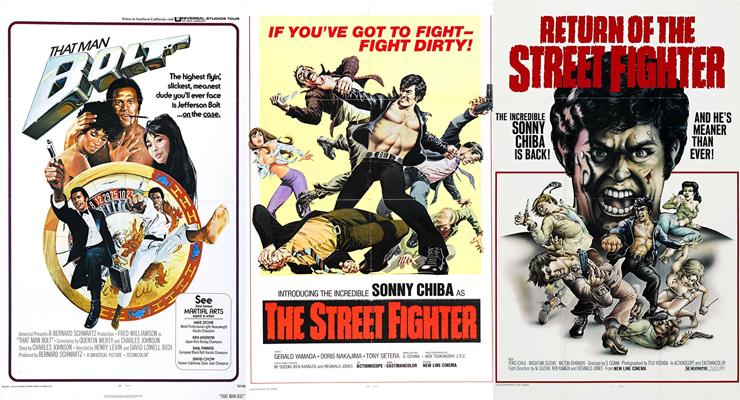 Ken Kazama Film Posters