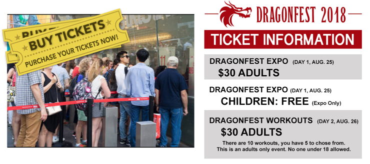 Purchase Dragonfest 2018 Tickets