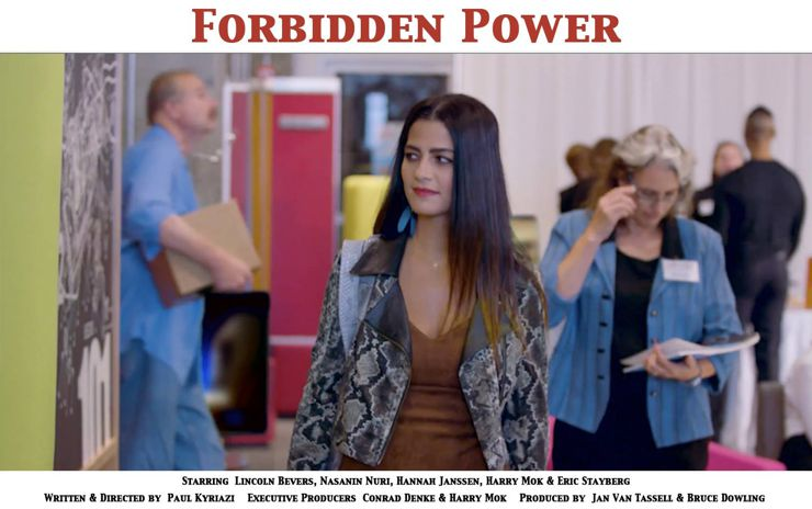 Nasanin Nuri, in Forbidden Power (2018)