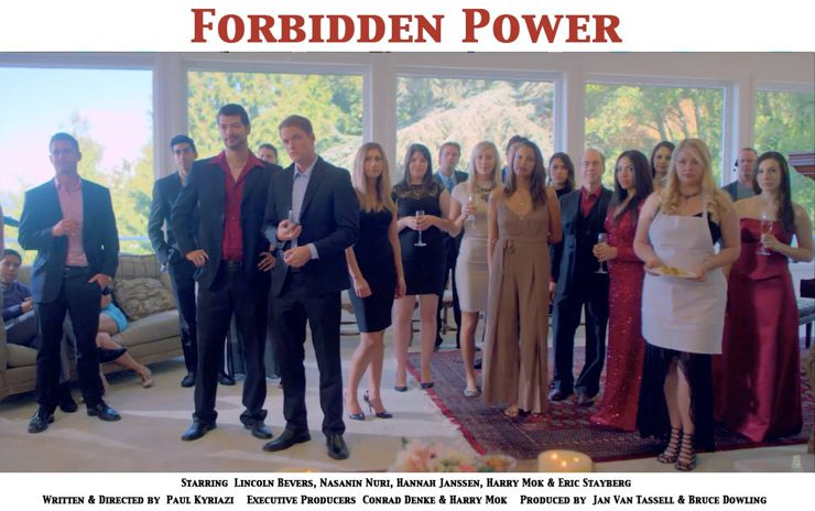 The Cast of Forbidden Power (2018)