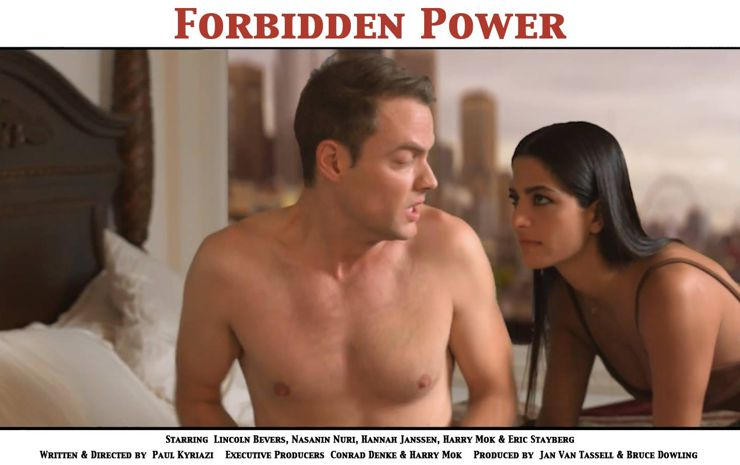 Lincoln Bevers and Nasanin Nuri in Forbidden Power (2018)