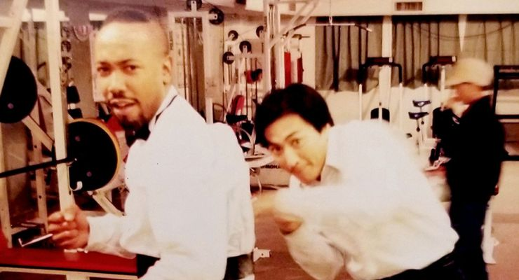 Bobby Samuels and Kenny Ho on Red Wolf (1995)
