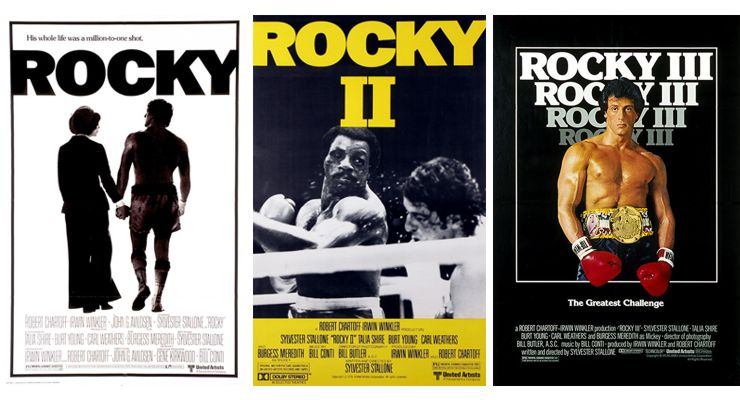 Rocky Movies Posters
