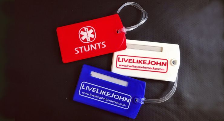 John Bernecker Foundations Stunt Tags