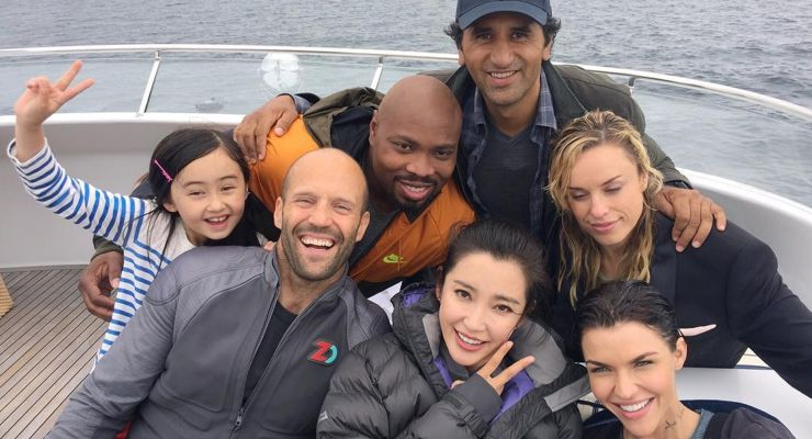 The Meg (2018) Cast
