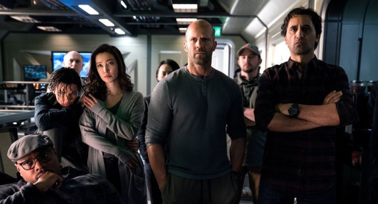 The Meg (2018) Submarine Crew