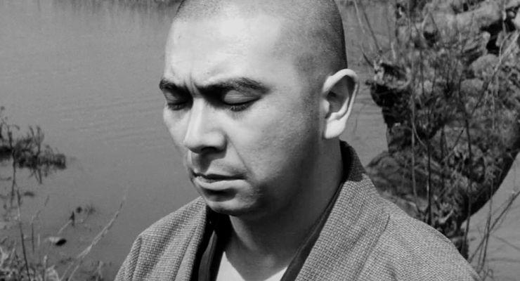 Shintaro Katsu in The Tale of Zatoichi (1962)