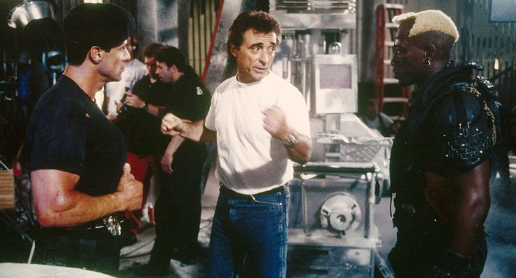Charlie Picerni working on Demolition Man (1993)