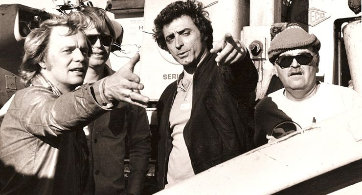 Charlie Picerni working on Starsky and Hutch (1978-1979)