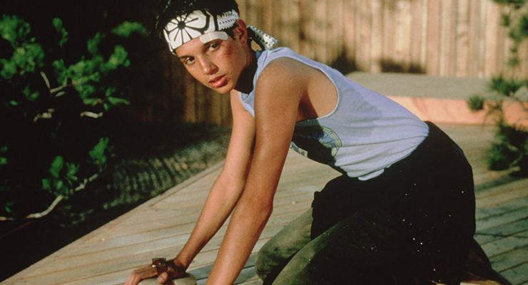 Ralph Macchio as Daniel in The Karate Kid (1984)
