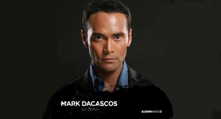 Mark Dacascos is starring in John Wick 3: Parabellum (2019)