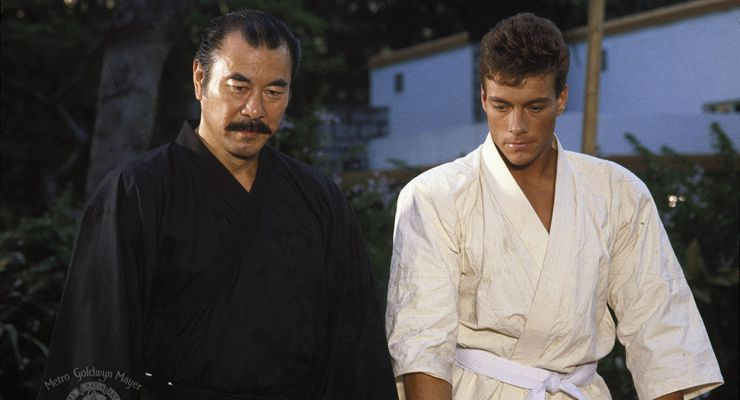 Roy Chiao and Jean-Claude Van Damme in Bloodsport (1988)