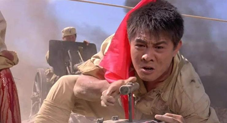 Jet Li in Born to Defense (1986)