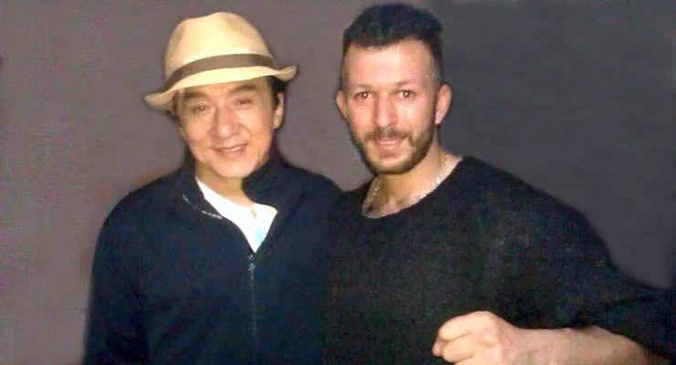 Jackie Chan and Bassem Khayati