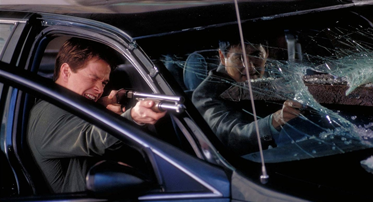Yun-Fat Chow and Mark Wahlberg in The Corruptor (1999)