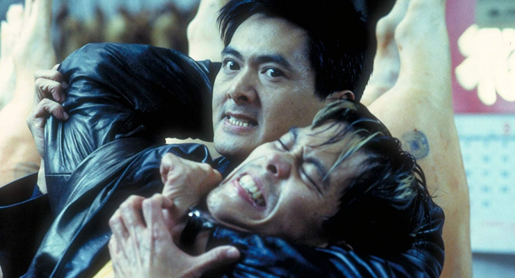 Yun-Fat Chow and Byron Mann in The Corruptor (1999)
