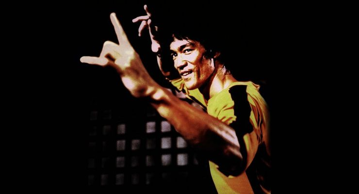 Bruce Lee in Game of Death (1978).